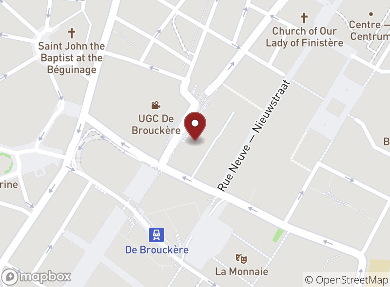 Location of Brussels Grill Debrouckere