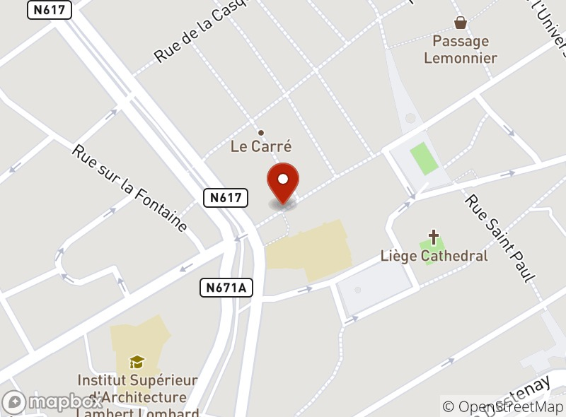 Location of La Cafétaria