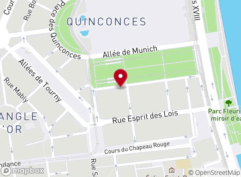 Location of Brasserie l'Orleans
