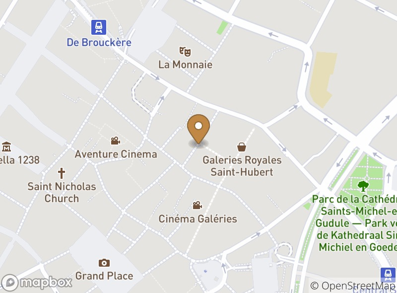Location of Restaurant de l'Ogenblik