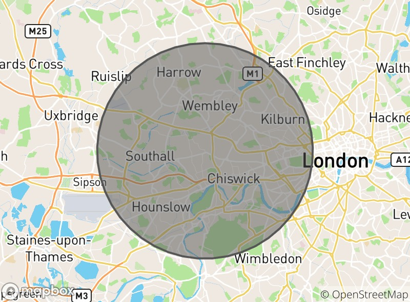 Location of Sidi Bou London