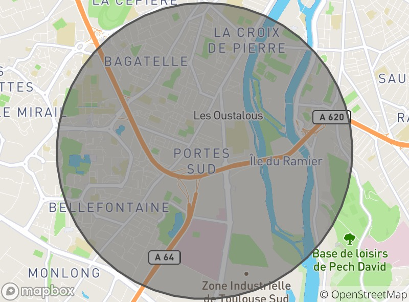 Location of Le Plantain Gourmand