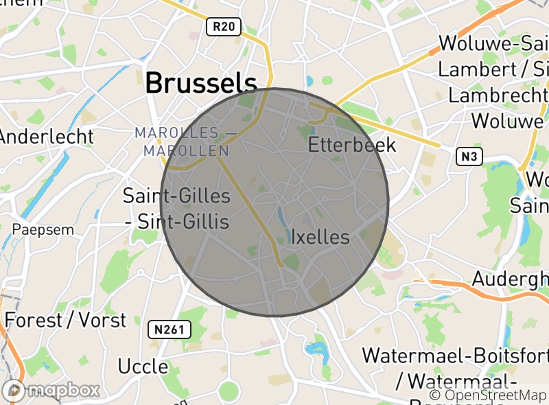 Location of La Poutine à Ti-Bi