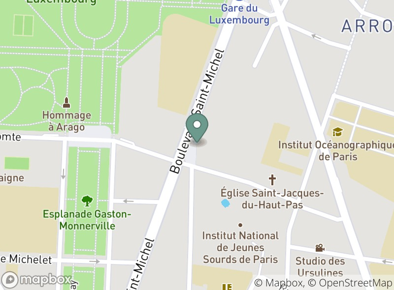 Location of Friends Caffe