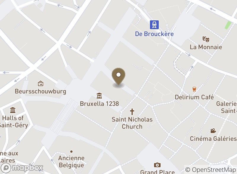 Location of Corica Grand Place