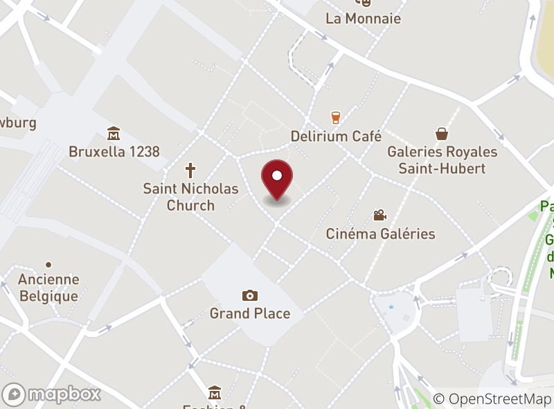 Location of Napoli Restaurant