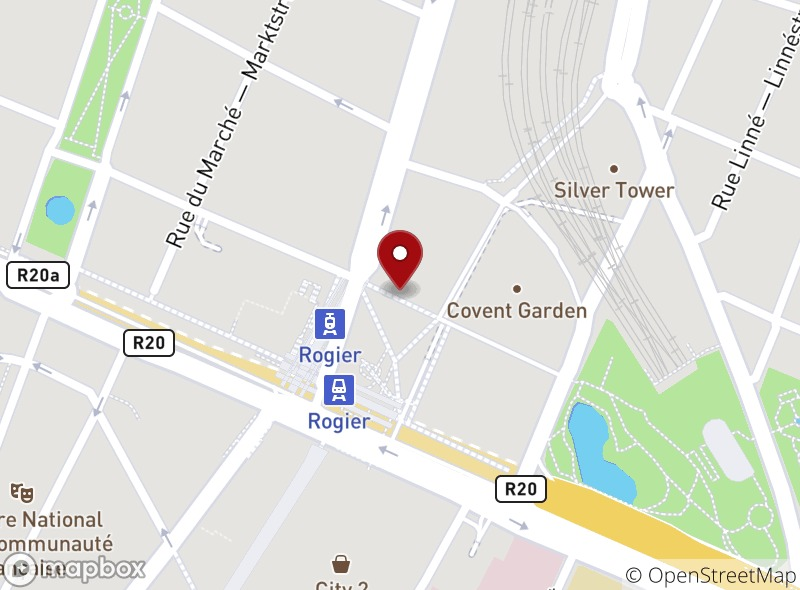 Location of Boston Steak House Rogier