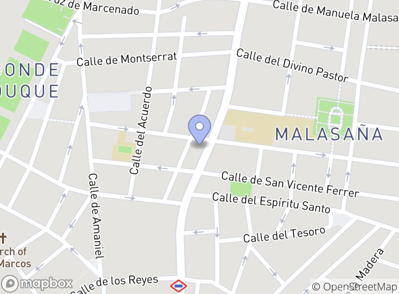 Location of Sushi Bar de Elisa