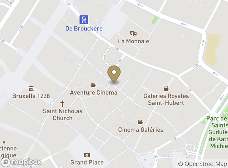 Location of Café Georgette