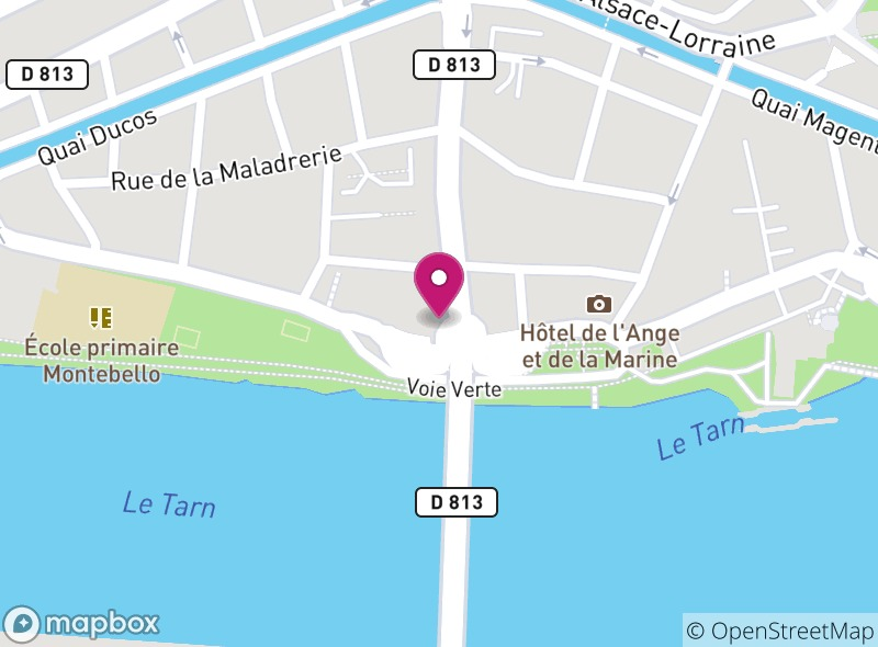 Location of Hôtel Restaurant Spa Le Pont Napoléon